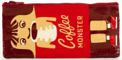 Blue Q Pencil Case Coffee Monster