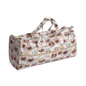 Hobby Gift MR4698/195 | Hoot Print Knitting Bag | 15x42x17½