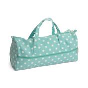 Hobby Gift MR4698/193 | Duck Egg Spot Knitting Bag | 15x42x17½