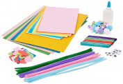 Anker Kids Create/Arts and Crafts Craft Carry Bag, Plastic, Assorted Colour, 29.7 x 21 x 2 cm