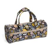 Hobby Gift HGKB/237 | Bloom Print Craft/Knitting Storage Bag 14x44½x16½cm