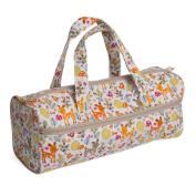 Hobby Gift HGKB/206 | Deer Print Craft/Knitting Storage Bag 14x44½x16½cm