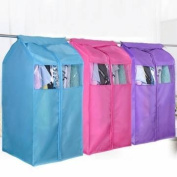 Oxford Hang Dustproof Clothes Storage Bag Garment Suit Coat Dust Protector Cover