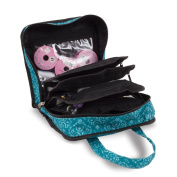 Sewing Accessories Case, Knitting and Craft Organiser Storage Bag in Imperial Teal