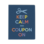 Large Coupon Organiser Portfolio - Keep Calm