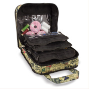 Sewing Accessories Case, Knitting and Craft Organiser Storage Bag in Paris Print