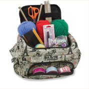 Knitting Bag Sewing Accessories And Craft Needle Storage Organiser Case in Paris