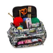 Knitting Bag Sewing Accessories And Craft Needle Storage Organiser Case in New York