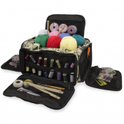 Knitting Bag, Sewing Accessories And Craft Needle Storage Organiser Case, Glamour Bag In Paris