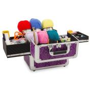Imperial Purple Mombasa Knitting Storage Case