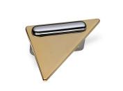 Schwinn 22033 Handle, Furniture Handle, Zamak, Borhlochabstand 32 mm, Shiny Gold