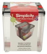Simplicity Medium General Container, Transparent