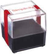 Simplicity Pin Cushion Container, Transparent