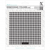 XCUT 15cm x 15cm Embossing Folder Dogtooth Pattern