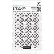 XCUT A6 Embossing Folder, Moroccan Flower Tiles