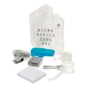 NPW Mini School Stationery Set - Micro Office Tool Box