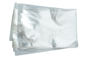 100 pcs Adhesion Zip Bag transparent 130 x 180 mm-Thickness 30 mµ-Flat Self-Adhesive Transparent sleeves
