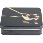 West5Products Useful Gold Jewellery Design Storage Tin
