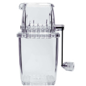 Transparent Plastic Ice Crusher - Cocktail Ice Crusher Ice Cube Crusher, Domestic Use - Great for Cocktails etc...