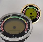 Calibre 4R PR International zisions-Hygrometer / - 1 %RF Silver