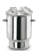 Supreminox Stainless Steel Ice-Cube Bucket, Silver, 10 cm