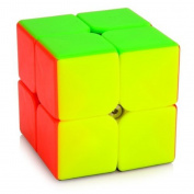 JinZhiCheng Colourful Square Magic Cube 50 x 50 x 50mm