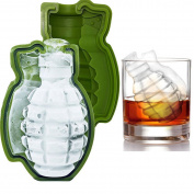 ECYC® 3D Grenade Shape Ice Cube Silicone Mould Ice Cream Maker