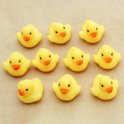 Rubber Duck, Tonwalk Squeezing Call Rubber Duck Ducky Duckie Baby Shower Birthday Favours Toys Gifts 10PC