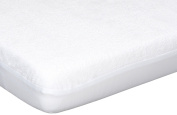 Poyetmotte Transalese Mattress Protector, 60 x 120 cm, White
