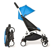 Babyzen YoYo Pushchair Ultra-Compact Chassis White Blue