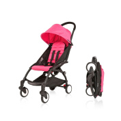 Babyzen YoYo Pushchair Ultra-Compact Chassis Black Pink