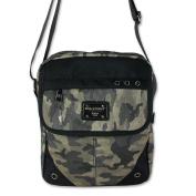 imppac Men's Shoulder Bag black schwarz, army