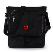 DrachenLeder Men's Shoulder Bag black black