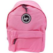 Just Hype Backpack Plain True Pink Bag