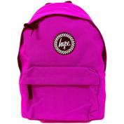 Just Hype Backpack Plain Magenta Bag