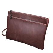 FANMINGSIDI Mens Wrist Bag Clutch Bag Handbag Business Man