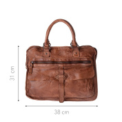 DuDu Men's Shoulder Bag Brown brown One Size