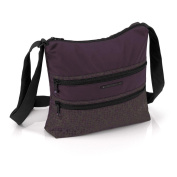 GABOL Men's Shoulder Bag Purple berry
