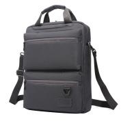 Men's Waterproof Multi-functional Computer Bag Backpack,Grey
