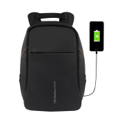 BIUBIUboom Men Laptop Backpack with USB Charging Port Anti Theft Travel Backpack