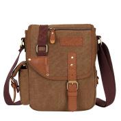 Men's Canvas Shoulder Bag Men's Bag Business Messenger Bag Handbag