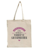 Grandmother Birthday or Christmas Gift Bag, Tote, Shopping Bag, Birthday Gift, Present, Gifts For Women, Worlds Coolest Grandmother