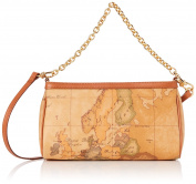 Alviero Martini 1a classe D02860000010, Women's Shoulder Bag, Beige (Multicolore), 8x14x26 cm