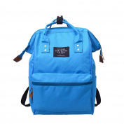 Womens Backpack, SHOBDW Unisex Fashion Solid School Travel Double Nylon Shoulder Zipper Casual Bag