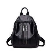 Multi-functional Large-capacity Casual Soft Leather Backpack Lady Travel Bag