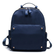 Woman New Nylon Backpack Fashion All-match Waterproof Anti-theft Bag