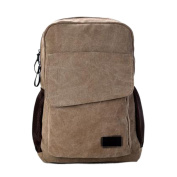 Mountaineering Student Bags Canvas Travel Bags Fashion Computer Bags Large Capacity Outdoor Backpack,Brown