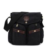 Fashion Casual Bag Canvas Bag,Black