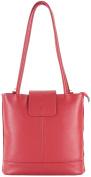 histoireDaccessoires - Women's Leather Backpack or Shoulder Bag - SA145414RG-Antonella
