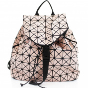 LeahWard® Women's Prism Shape Handbag Rucksack Shopper School College Rucksacks Bags